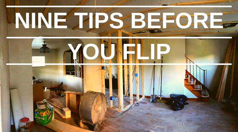 Before You Flip a House: Nine Tips