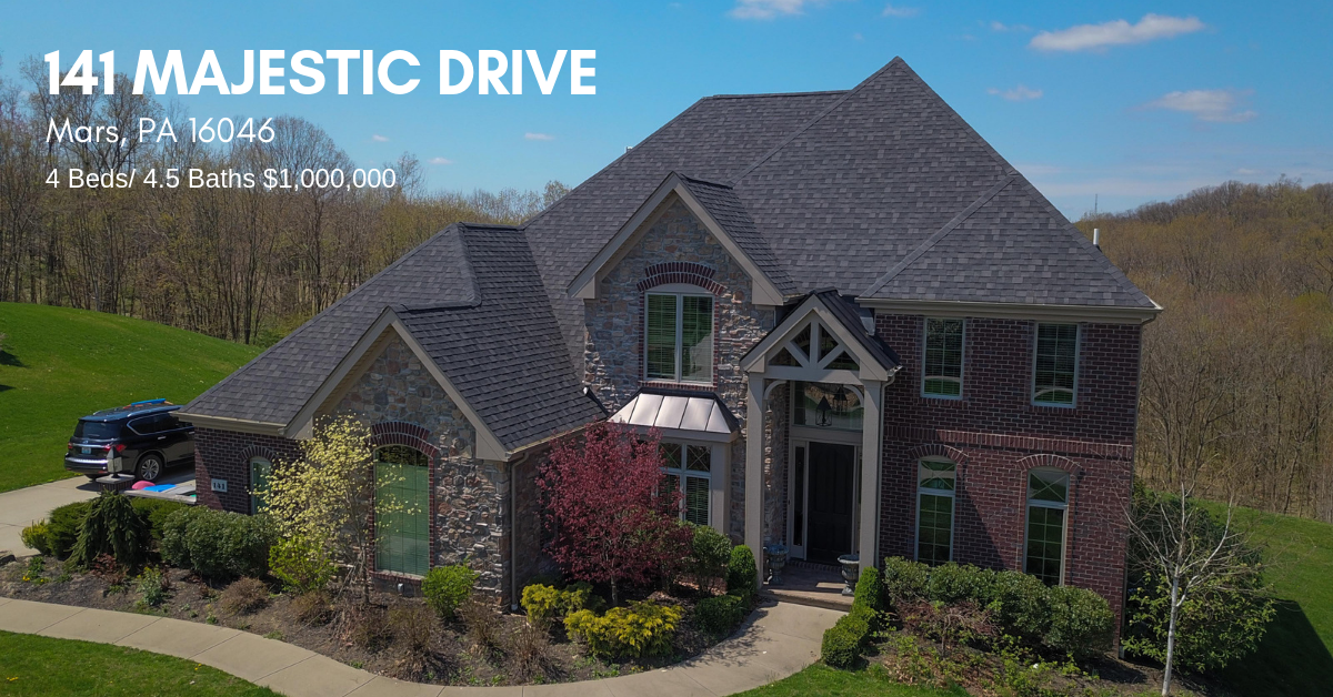 Featured Listing: 141 Majestic Drive, Mars PA 16046